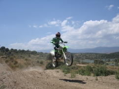 first training wit motocross in madrid